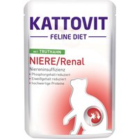 Kattovit Renal Pouches - Saver Pack: Chicken (12 x 85g)