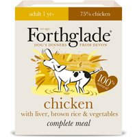 Forthglade Complete Meal Adult Dog - Chicken with Liver - Saver Pack: 36 x 395g