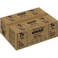 Whiskas 7+ Senior Pouches 84 x 100g - Fish & Poultry Selection in Jelly
