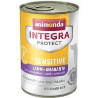 Integra Protect Dog Sensitive 6 x 400g - Lamb & Amaranth