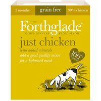 Forthglade Just 90% Complimentary Meal - Chicken - 18 x 395g