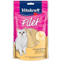 Vitakraft Premium Filet - Mixed Saver Pack: Chicken (70g) + Salmon (54g)
