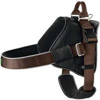 Hunter Neoprene Expert Norwegian Harness - Brown - Size L: 64-100cm chest circumference
