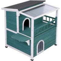 Cat House with Sunroof - 92 x 71.5 x 82.2 cm (L x W x H)