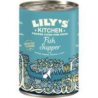 Lilys Kitchen Fish Supper for Dogs - Saver Pack: 24 x 400g
