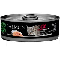 Alpha Spirit Cats Monoprotein 18 x 85g - Turkey