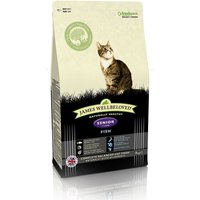 James Wellbeloved Senior 7+ Cat - Fish - Economy Pack: 2 x 4kg