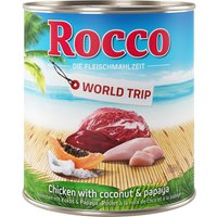 Rocco World Tour: Jamaica Saver Pack 24 x 800g - Chicken with Coconut & Papaya