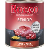 Rocco Senior 6 x 800g - Poultry & Oats