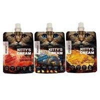 Porta 21 Kitty's Cream snack para gatos - Pack mixto - 9 x 90 g (3 variedades) - Pack Ahorro