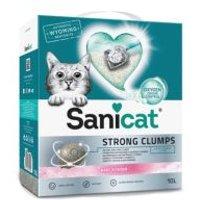 Sanicat Strong Clumps arena aglomerante para gatos - 10 l