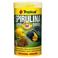 Tropical Super Spirulina Forte 36 % comida en copos para peces  - 5 l