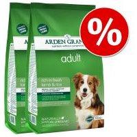 Pack Ahorro: Arden Grange 2 x 12 kg - Adult Light Pollo y arroz