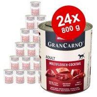 Animonda GranCarno Original Adult 24 x 800 g - Pack Ahorro - Carne pura de vacuno