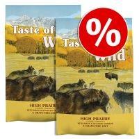 Pack Ahorro: Taste of the Wild 2 x 12,2 / 13 kg - Sierra Mountain (2 x 12,2 kg)