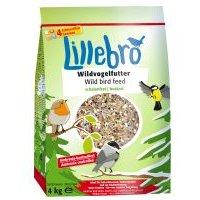 Lillebro comida sin cáscaras para aves silvestres - 3 x 4 kg