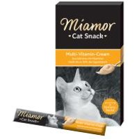 Miamor Cat Snack crema multivitamínica con taurina para gatos - 24 x 15 g