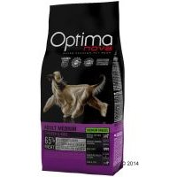 Optimanova Medium Adult con pollo y arroz para perros - 12 kg