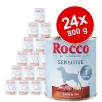 Pack Ahorro: Rocco Sensitive 24 x 800 g - Venado y pasta