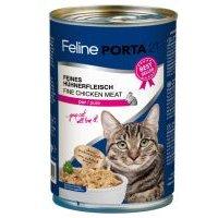 Feline Porta 21 6 x 400 g en latas para gatos - Pollo con aloe (sin cereales)