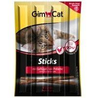 GimCat Sticks 3 x 4 barritas para gatos - Ave