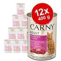 Animonda Carny Adult 12 x 400 g - Pack Ahorro - Cóctel de carne