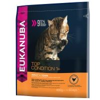 Eukanuba Top Condition 1+ Adult para gatos - 2 x 4 kg - Pack Ahorro