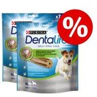 Purina Dentalife snacks dentales para perros - Pack Ahorro - Perros pequeños (1150 g / 70 uds.)