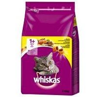 Sparpaket Whiskas 2 x Trockenfutter - 1+ Huhn (2 x 3,8 kg)