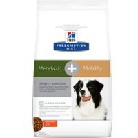 Hill's Metabolic + Mobility Prescription Diet pienso para perros - 2 x 12 kg - Pack Ahorro