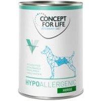 Concept for Life Veterinary Diet Hypoallergenic con caballo para perros - 24 x 400 g