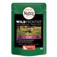 Nutro Wild Frontier 24 x 85 g para gatos - Pollo y salmón