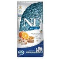 Farmina N&D Adult Medium & Maxi Ocean con bacalao y naranja - 2 x 12 kg - Pack Ahorro