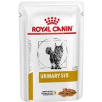 Royal Canin Urinary S/O Veterinary Diet sobres para gatos - Bocaditos en salsa 24 x 85 g - Pack Ahorro