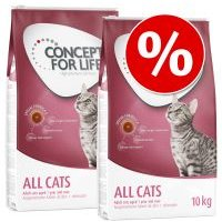 Concept for Life pienso para gatos - Pack Ahorro - All Cats (2 x 10 kg)