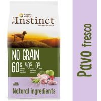 True Instinct No Grain Medium-Maxi con pavo fresco - 12 kg