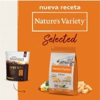 Nature's Variety Selected Kitten pollo campero - 2 x 7 kg - Pack Ahorro