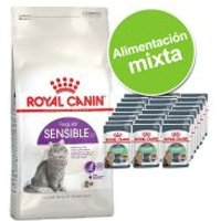 Pack nutrición mixta: pienso 4 kg + sobres Royal Canin 24 x 85 g - Maine Coon + Breed Maine Coon