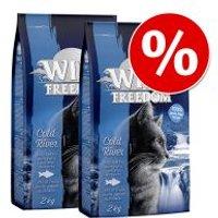 Wild Freedom 3 x 2 kg pienso para gatos - Pack Ahorro - Green Lands: con cordero