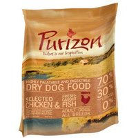 Purizon Adult Dry Dog Food Mixed Trial Packs - Mixed Pack 2 (2 x 1kg + 400g)