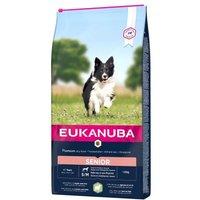 Eukanuba Senior Small & Medium Breed Lamm & Reis - 12 kg