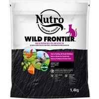 Nutro Wild Frontier Katze Adult Truthahn & Huhn  - 1,4 kg