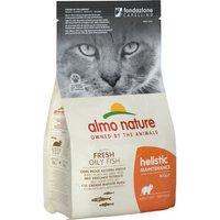 Almo Nature Holistic Fettfisch & Reis - 12 kg