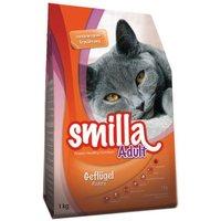 Gemischtes Paket Smilla Trockenfutter Adult - 3 x 4 kg (Geflügel, Rind, Fisch)