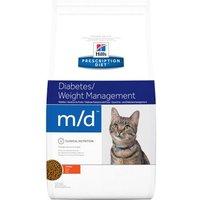 Hill's Prescription Diet m/d Diabetes/Weight Management Katzenfutter mit Huhn - 1,5 kg