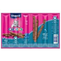 Vitakraft Cat Stick Healthy - Huhn & Katzengras (6 x 6 g)