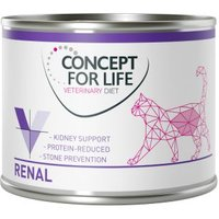 Sparpaket Concept for Life Veterinary Diet 24 x 200 g /185 g - Renal 24 x 200 g