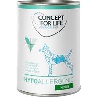 Concept for Life Veterinary Diet Hypoallergenic Pferd - 12 x 400 g