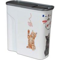 Curver Trockenfutterbehälter Katze - bis 4 kg Trockenfutter