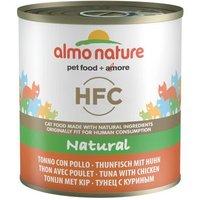 Almo Nature HFC 6 x 280 g - Atún y pollo